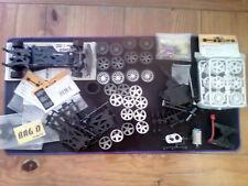 lot HPI MICRO RS4: châssis+moteur+boîte+pièces neuves-1/18 scale 4WD RC car kit