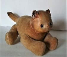 Antique Horsman stuffed jointed Pussy Pippin Dolly Dingle's cat,compo head, 1911