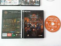 Dragon Throne Battle Red Cliffs STR/RTS/stratégie PC FR