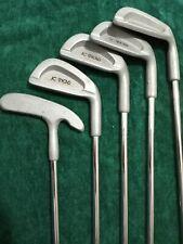 NORTHWESTERN  JC SNEAD Golf Club Set 3 5 7 9 Iron  & Putter RH Steel Shaft VTG