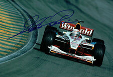 Alex ZANARDI Signed 12x8 Winfield WILLIAMS F1 Race Photo Autograph AFTAL COA