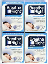 Breathe Right 120 Nasenpflaster small / med. transparent in OVP - besser atmen