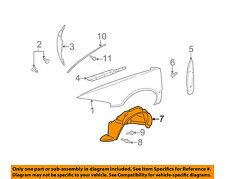 Cadillac GM OEM 98-04 Seville-Front Fender Liner Splash Shield Left 25709817