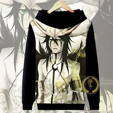 Anime Bleach Ulquiorra Hoodie Jacket Pullover Coat Sweatshirt Long Sleeve#57-R66