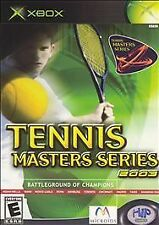 Tennis Masters Series 2003 (Microsoft Xbox, 2003)