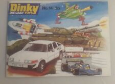 Dinky Toys Catalogue No 14 - dinky toys booklet no 14