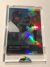 2003 Topps ETopps Dontrelle Willis AUTO AUTOGRAPH LIMITED TO 101 CARDS