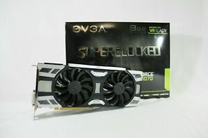 EVGA GeForce GTX 1070 8GB GDDR5 Graphics Card (08GP45173KR)