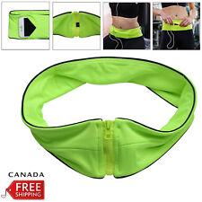 For Mobile Cash Keys Waist Exercise Fitness Running Belt Bag Flip Style Pouch CA