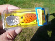 STORM WIGGLE WART PRE RAPALA,GORGEOUS MINT,SEALED BOX,V-158 OR/CHART BACK SPECS