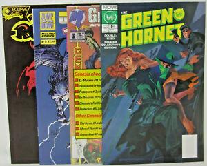 Now Green Hornet 1 Malibu Gravestone 3 Polybagged Rune 1 Eclipse Red Dog Rusell