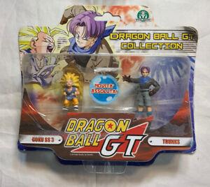 Dragon Ball GT MINIATURE Figure giochi preziosi MOC GOKU SS3 TRUNKS IT exclusive