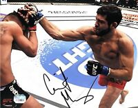 GILBERT MELENDEZ HAND SIGNED AUTOGRAPHED 8X10 UFC MMA PHOTO WITH FANATICS COA 1