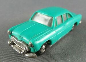 Norev Micro Miniature N°1 Ho 1/86 Simca Ariane Turquoise Roues Métallisées Lesté