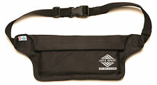 Aqua Quest AquaRoo - 100% Waterproof - Money Belt Fanny Pack Travel Pouch -Black