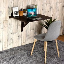 Wall Mount Writing Table Convertible Folding Computer Desk Storage Home Office