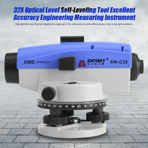 SNDWAY 32X Optical Level Self-Leveling Tool Excellent Accuracy Measuring