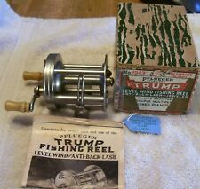 PFLUEGER TRUMP 1943 REEL TAG# 12/01/18B   BOX PAPERS   GOOD CLICKER