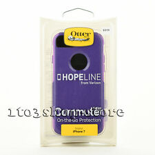 OtterBox Commuter Dual-Layer Hard Shell Case Cover for iPhone 7 HopeLine Purple