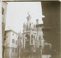 Italia Verona Atelier Fotografia Ca 1910 Foto Stereo Placca Da Lente