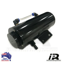 Radiator Overflow Tank Can Aluminium Anodized *Black*