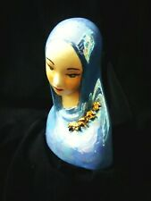 OLOS - Vintage Our Lady Of Sorrows Porcelain Signed Studio Pottery by Beulah