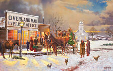 Jigsaw Puzzle Americana Overland Express Delivery 550 pieces NEW Made in the USA
