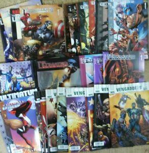 Ultimates.Lote de 36 Comics.Marvel.Forum/Panini.ver descripcion