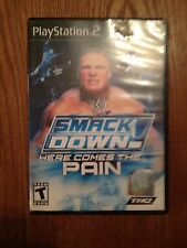 WWE SmackDown Here Comes the Pain (Sony PlayStation 2, 2003) Complete