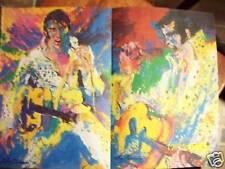 Elvis Presley -17x11 in.a LeRoy Neiman Illustration! & aFraiser vs. Ali Fight 2!