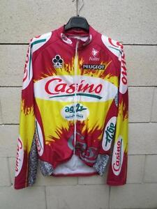 Veste cycliste CASINO PEUGEOT AG2R COLNAGO Nalini cycling jacket 5 XL