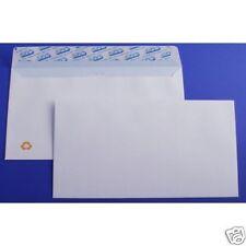 500 Enveloppes blanches DL - 110x220 mm sans fenêtre