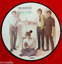 "BEATLES - I feel Fine/She's A Woman - Rare UK 7"" Picture Disc (Vinyl)"