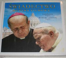 VANGELIS & JANSON SWIADECTWO TESTIMONY  OST SOUNDTRACK POLISH ONLY RELEASE