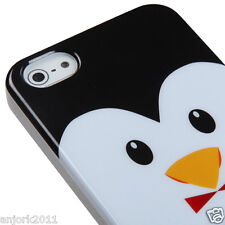 APPLE iPHONE 5 CANDY GEL TPU SKIN CASE COVER PHONE ACCESSORY PENGUIN