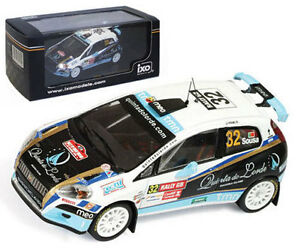 IXO RAM403 Fiat Grande Punto S2000 Wales GB Rally 2009 - B Sousa 1/43 Scale