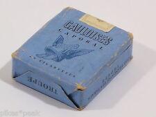 Alte volle Gauloises Caporal 20 Zigaretten Packung / Papierpackung mit Inhalt