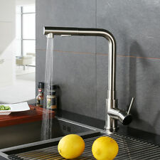 modern kitchen pull out faucet single handle pull down sink faucet mixer tap - Modern Kitchen Faucets