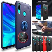 Shockproof Case For Huawei P Smart 2019 TPU360° Ring Holder Magnetic Slim Cover