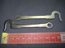 crochet d'armoire ou de buffet en acier, 90 mm,   neuf