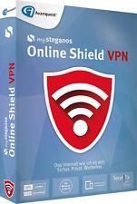 Steganos Online Shield VPN  für 5 PC CD/DVD Internet Werbefrei EAN 4023126119476