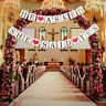 He Asked She Said Yes Wedding Party Bunting Banner Garland Hanging Décor