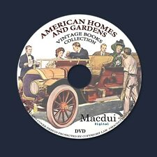 American Homes and Gardens – Vintage Magazines 10 Volumes PDF on 1 DVD Gardens