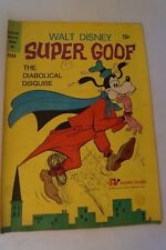 DISNEY VINTAGE COMIC BOOK - Super Goof - The Diabolical Disguise.