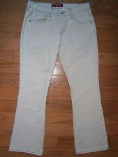 Womens Levis Nouveau Boot Cut Jeans 10 Stretch Light Gray