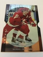 Sergei Fedorov Red Wings 1995-1996 Upper Deck Lethal Lines #LL8