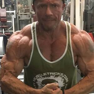 stringer body building vest