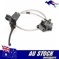 Hydraulic Front Disc Brake Caliper System+Pads 50cc 70cc 125cc 140cc PIT PRO