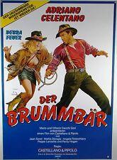 Der Brummbär IL BURBERO Adriano Celentano - Filmplakat DIN A1 (gerollt)