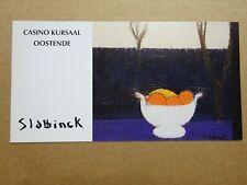 folder/pliant : Rik Slabbinck, 1994, Casino Kursaal Oostende